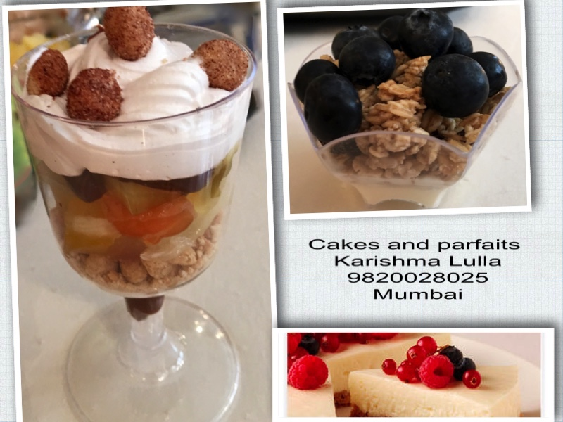 Karishma's cakes and parfaits, 9820028025 in Mumbai