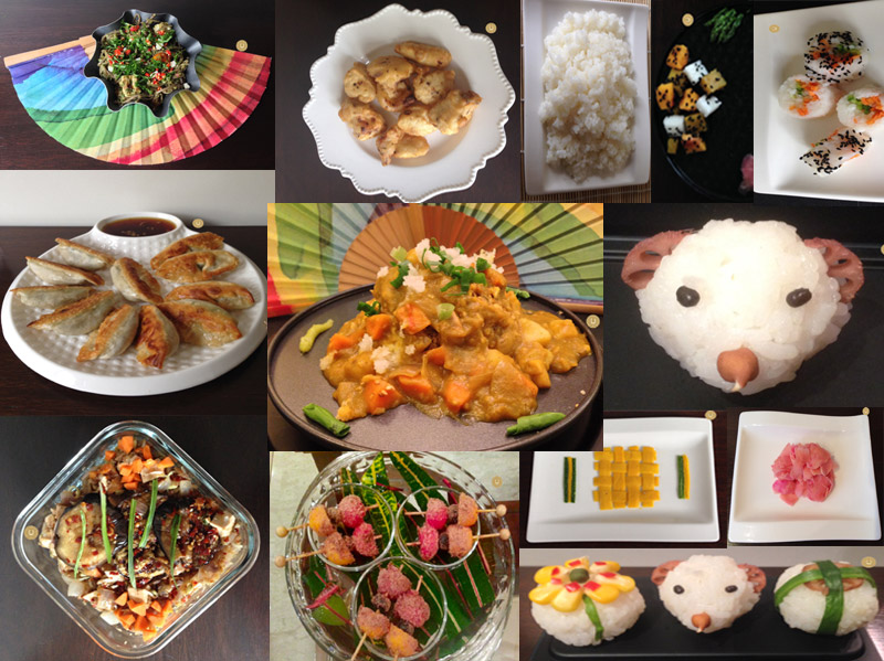 JAPANESE MENU VEGETARIAN [5TH MENU]