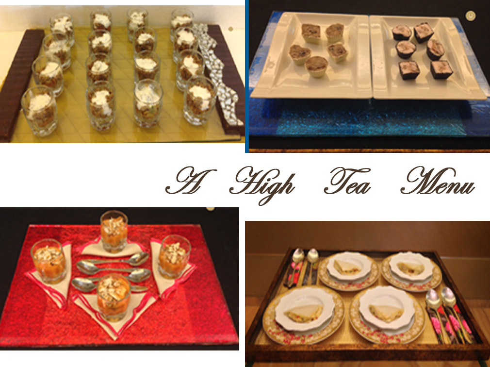 A HIGH TEA MENU [7TH MENU]