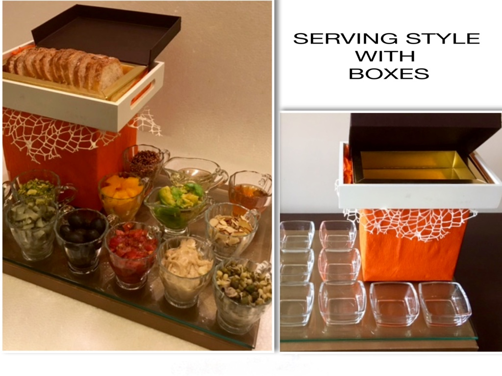 Serving Style with Boxes [49]