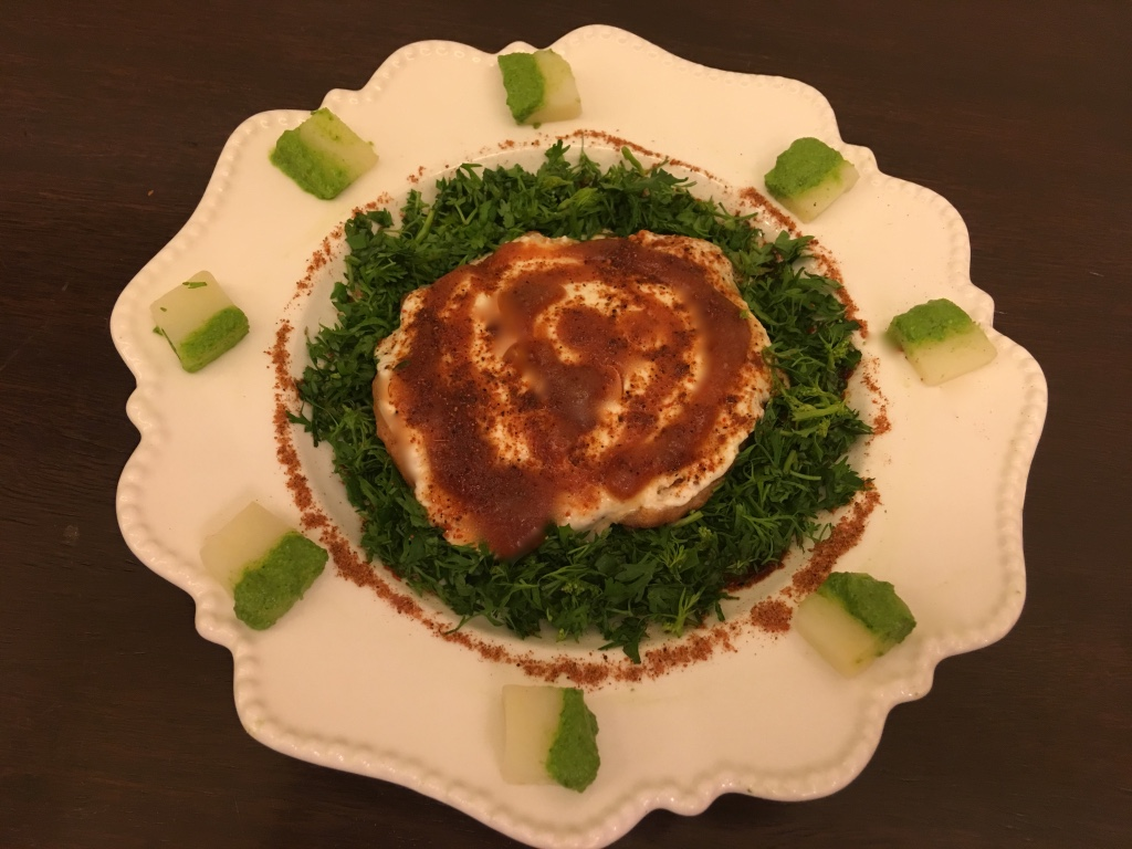 Organic styling of a plate-3